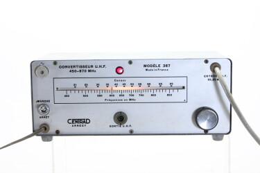 U.H.F Converter Model 387 HEN-R-6089 NEW