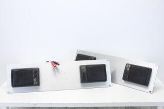 SB-668 - 2x Set of 2 Speakers on DIY 19 Inch Panel (No.2) BVH2 J-12344-bv