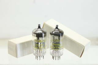 ECC801S (12AT7) O-Getter Tube - Set of 2 Tubes P-in doos-11104-z