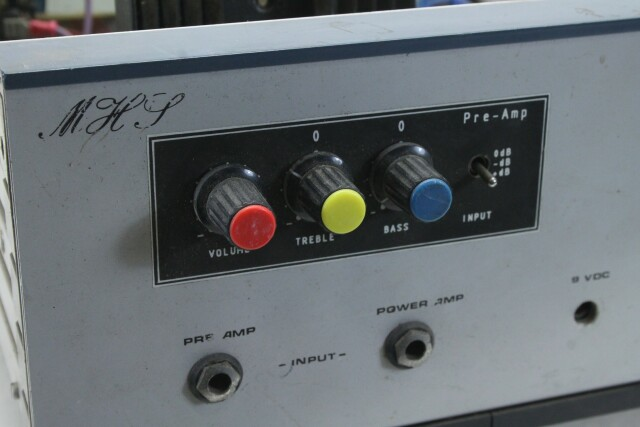 200 Watt Power Amplifier For Parts Only MARS M-13723-BV