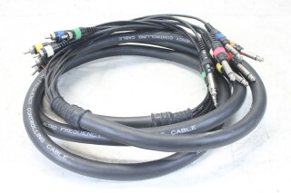 RCA To Jack - Audio Frequency Controlling Cable Multicore (3 Meter) EV-KM3-4610 NEW