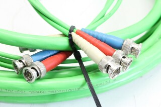 BNC RGB Multi Cable Lot Of Two KM2-413-VOF 2