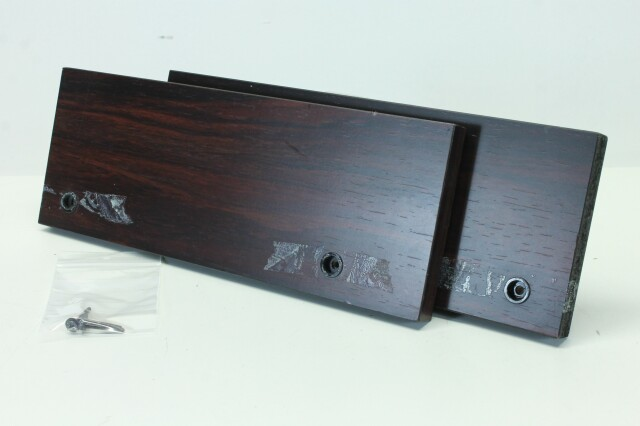 Dark Wooden Side Panels for Mixing Console H-9030-x