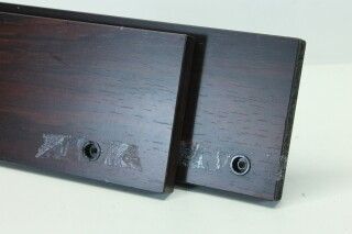Dark Wooden Side Panels for Mixing Console H-9030-x 2