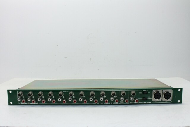 VP 702 Audio & Video Distribution Amplifier HER1 ORB1-13804-BV