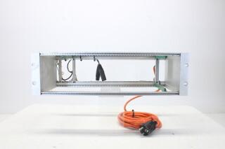 Euro Rack for Siemens/Telefunken Modules with Powercord EV-N-4148
