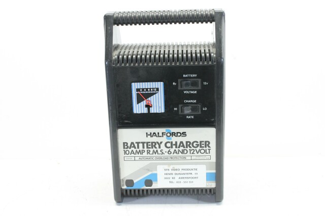 10 AMP RMS 6 and 12 Volt - Battery Charger Frits L-9942-Z