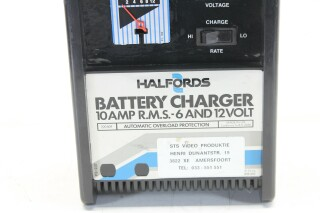 10 AMP RMS 6 and 12 Volt - Battery Charger Frits L-9942-Z 2