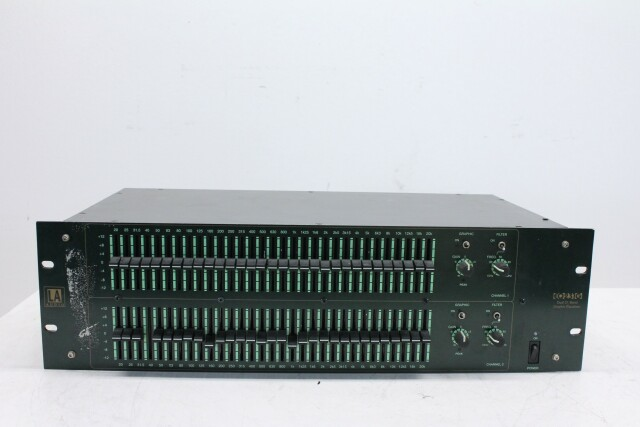 EQ231G Dual Channel 31 Band Graphic Equalizer PUR1 RK22-14302-BV
