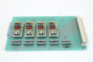 Lot of 4 PCB's with Relay's (No.1) BVH2 K-6-12114-bv 6