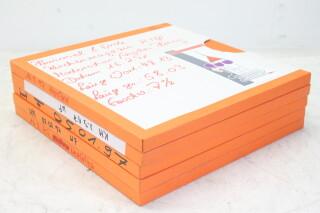 Lot of 5 1/4 Inch Studio Tapes (No. 4) EV-P-4713 NEW