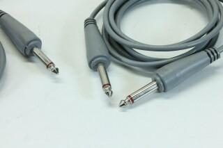Lot of Vintage Unbalanced Jack Cables A-1-8839-x 3