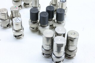 Lot With 17x BNC 75 ohm Connectors BVH2 A9-11782-BV 2