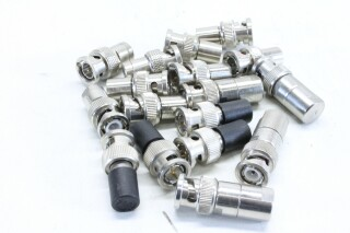 Lot With 17x BNC 75 ohm Connectors BVH2 A9-11782-BV 4