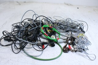 Lot with cables with different connectors and plugs (No.2) PLVL-3--7223-x 1