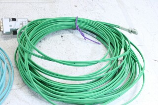 Lot with Fiber cable Belden and Leon FS20-7128-x 3