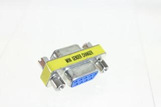 Mini Gender Changer 9 Pin HVR-FS27-3926