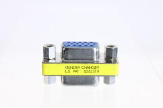 Mini Gender Changer VGA (blue) HVR-FS27-3924