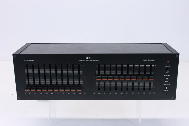 10 band Graphic Stereo Equalizer Defect L-7608-NEW