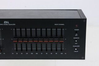 10 band Graphic Stereo Equalizer Defect L-7608-NEW 2