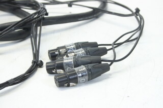Multicable With 39 Point Din and 12 XLR Connectors HVR-J-3970 NEW 6
