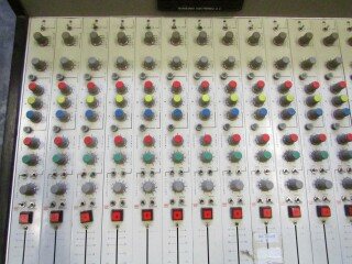 vintage broadcast 18 channel studio console FL1-x 3
