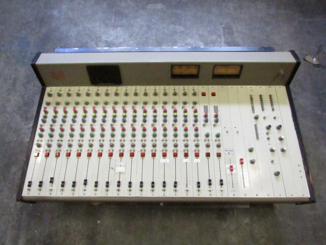 vintage broadcast 18 channel studio console FL1-x