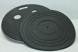 Turntable Platter with Rubber Turntable Mat H-8720-x