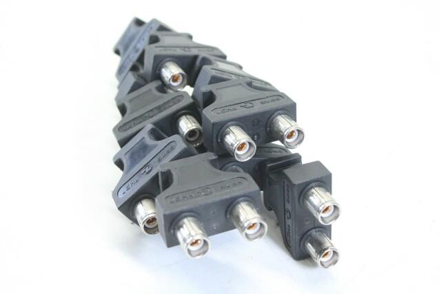 QW37 BNC Patch Plugs - lot of 11 EV-E-9-14267-bv