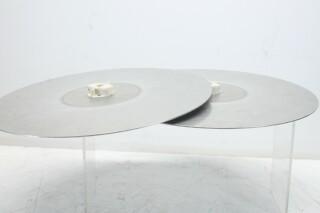 Telefunken/Studer Trident Locking Tape 27 cm Platters KAY O-13728-BV
