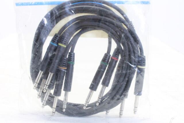 TT-Phone Bantam Patch Cable Set - 6x - 0,5m - (No.1) HEN-KM3-5107