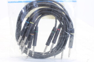 TT-Phone Bantam Patch Cable Set - 6x - 0,5m - (No.1) HEN-KM3-5107