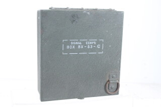 US Army Signal Corps Accessories Box BX-53-C EV-H-4873 NEW