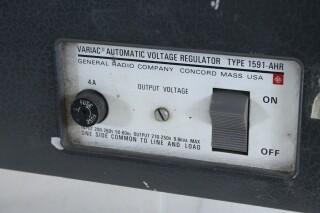Variac Automatic Voltage Regulator - Type 1591 AHR O-13147-BV 4