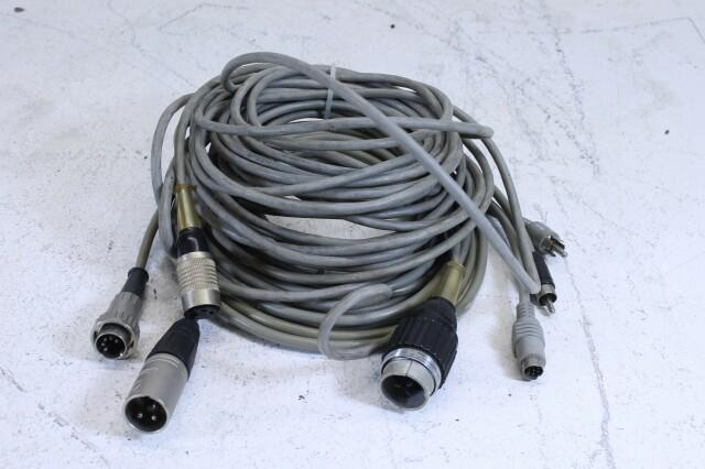 Vintage Cable lot Tuchel,Xlr,Dyn plugs. No.1 BM11-6198-x