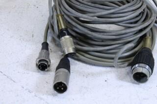 Vintage Cable lot Tuchel,Xlr,Dyn plugs. No.1 BM11-6198-x 2