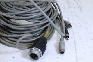 Vintage Cable lot Tuchel,Xlr,Dyn plugs. No.1 BM11-6198-x 3