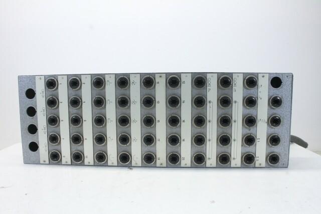 Vintage Mess Tuchel Patch Panel with 50 Female Inputs EV-N-14040-BV