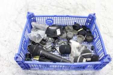 Assortment of microphone parts, Rexer, Sennheiser , Shure etc. EV-M-6410 NEW