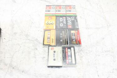 Assortment of unused cassettes (11x) EV-P-6279