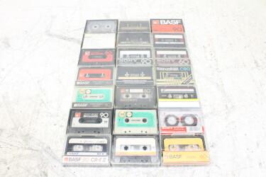 Assortment of used cassettes (21x) EV-P-6280