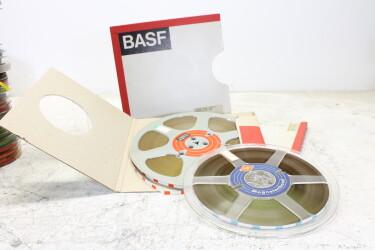 """BASF & AGFA 1/4"""" reel tape on 10"""" reels USED EV-P-6316 NEW"""