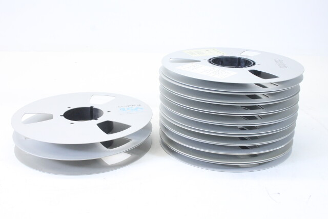 "Lot Of Tape Reels In 1"" and 1/2"" EV-P-4987"