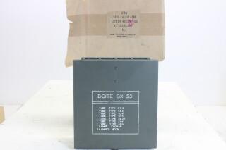 New Old Stock Boite BX-53 Tube Set 1972 EV-FS15-4169 NEW
