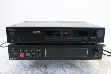 PCM-701ES Digital Audio Processor + RTW PCM-AD Interface w/o rtw meter JDH-C2-OR14-6476