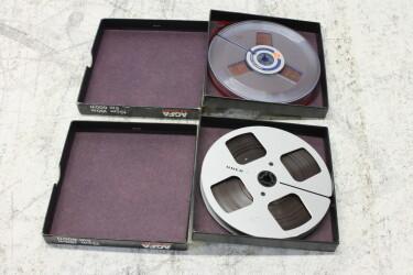 "Uher & Agfa 1/4"" reel tape 5"" reel + alu reel EV-P-6329 NEW"
