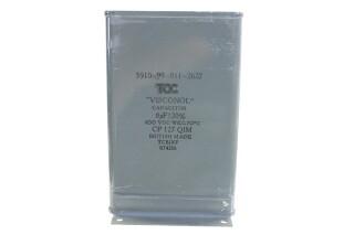 Visconol Capacitor 8µF ± 20% - 400 VDC - CP127 QIM HEN-FS31-4837 NEW