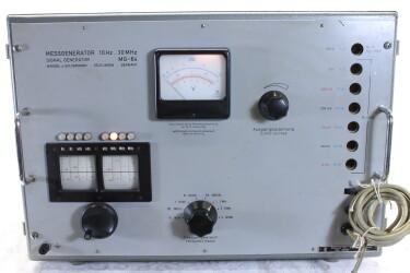 Signal Generator MG-64 Messengenerator 10 Hz - 30 MHz HEN-ZV9-6009 NEW