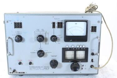 TFPM-76 TF-Pegelmesser Carrier Frequency Level Meter 0,3...1350 kHz HEN-ZV-22-6095 NEW