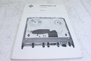 Magnetophon 36 Manual with schematics VL-E-7248-x